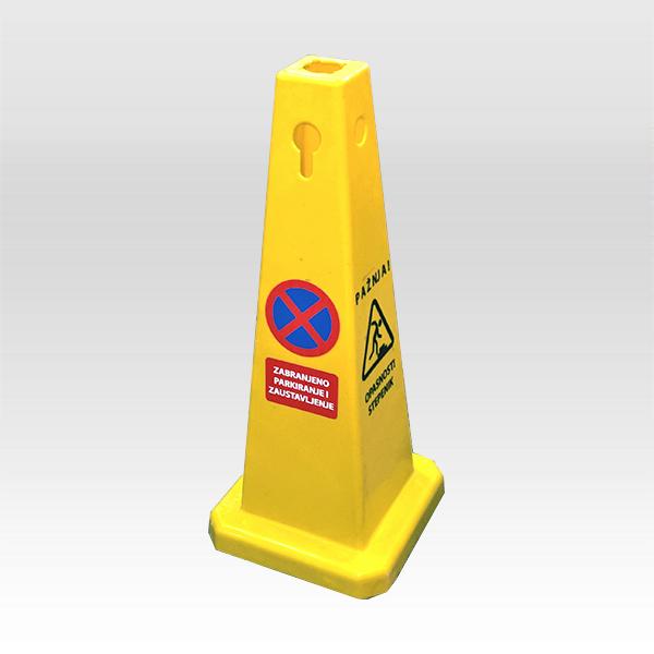 Znak upozorenja piramidalni