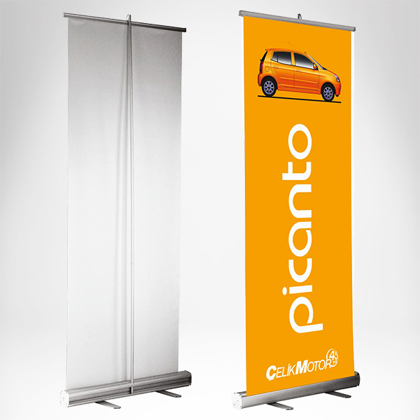 Rolobaneri - roll up banner
