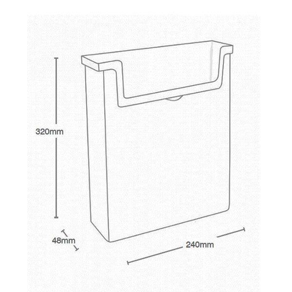 OD230-Zidni-stalak-za-flajere-za-spoljnu upotrebu format A4